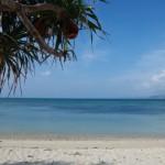 名護市屋我の物件前のビーチ