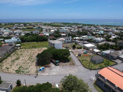 沖縄本島最南端。丘の上の土地