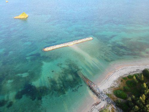 7600坪のリゾート用地。美しいビーチが目の前です