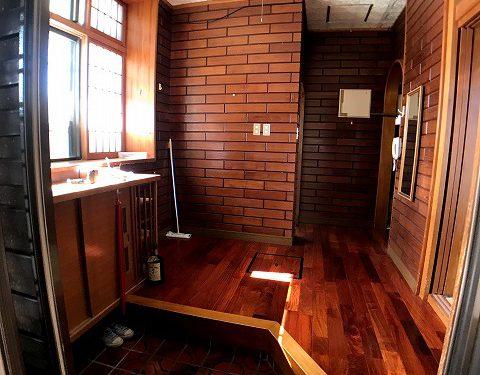 住居1階玄関