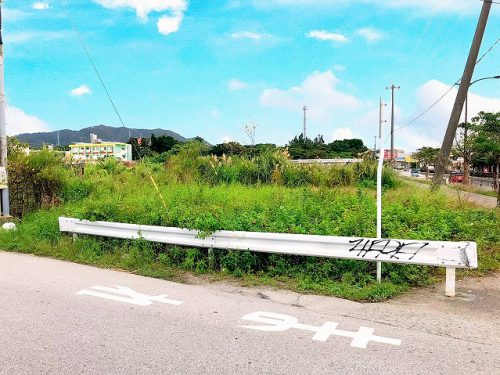 うるま市石川・バイパス沿いの売土地