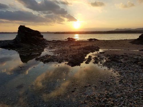 絶景の朝日のぼる東海岸ビーチフロント