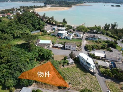 海まで徒歩約3分!屋我地島のオーシャンビュー土地!